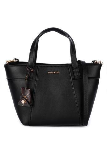 Nine West black Sunnyside Mini Crossbody Tote Bag 7A728AC41F1B5EGS_1