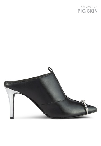 House of Avenues black Night To Day Mules 69DB6SHF274EBEGS_1