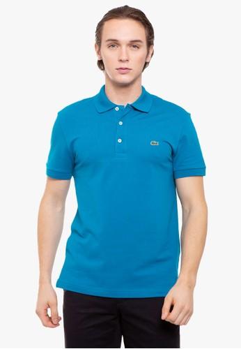 Lacoste multi Men's Lacoste Stretch Mini Cotton Piqué Slim Fit Polo 04B06AAD3B1588GS_1