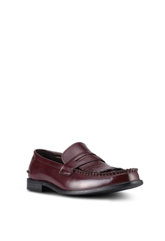ZALORA Faux Leather Slip On Dress Shoes HK$ 379.00. Available in several  sizes