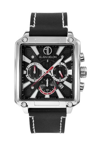 Alain Delon black Alain Delon Men Chronograph Watch AD458-1332C 499F7ACA5361D3GS_1