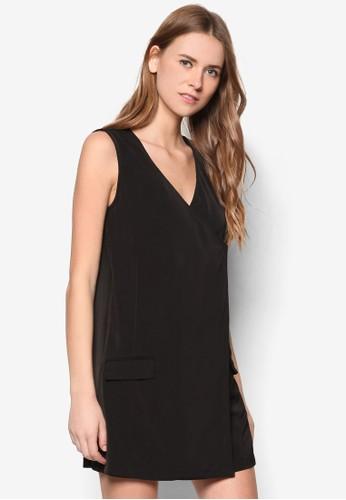 Collectizalora時尚購物網評價on Wrap Shift Dress, 服飾, 短洋裝