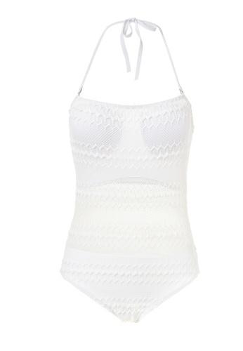 hk-ehunter white Halter One-piece Swimsuit HK648AA50QBLHK_1