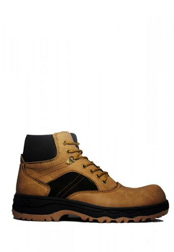 Cut Engineer brown Cut Engineer Safety Boots Hiking High Leather Soft Brown 804D3SH56B8AABGS_1