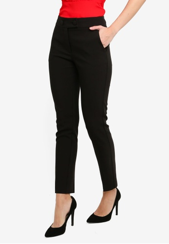 FORCAST black Coraline Slim Pants 94109AA6F5164CGS_1