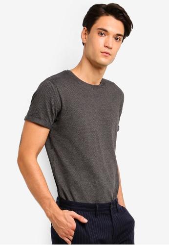 ESPRIT 黑色 短袖T恤 8CBE9AAAF08D29GS_1