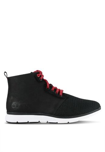 Timberland black Killington Leather And Fabric Oxford Shoes TI063SH0S69SMY_1