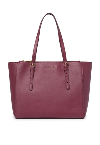 Marc Jacobs red Marc Jacobs Commuter Leather Tote Bag Mulled Wine M0016410 AD288AC8B411BDGS_1