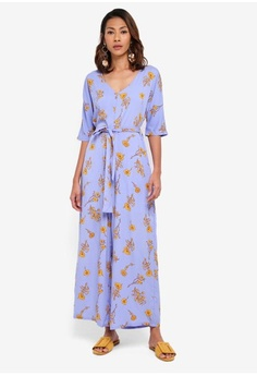 2364387a2ca Psst... we have already received your request. Glamorous. Floral Jumpsuit