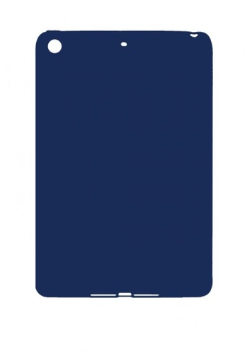 MobileHub navy iPad Mini 1/ 2/ 3 Silicone Cover Soft Case Rubberized Finish 950F1AC513A1CDGS_1