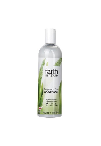 Holland & Barrett Faith in Nature Fragrance Free Conditioner 400ml E400BES286A661GS_1
