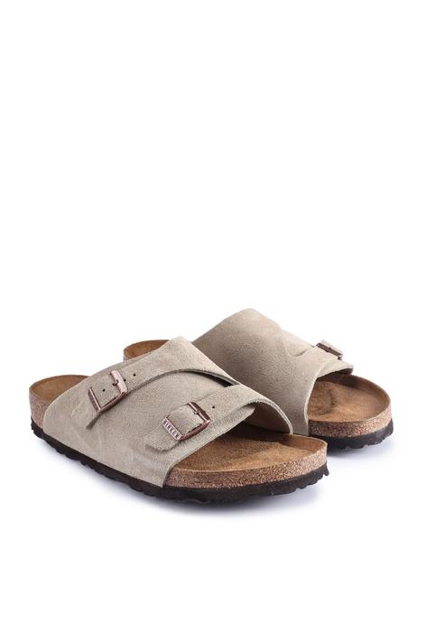 Birkenstock Zürich Suede Sandals