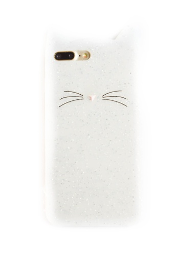Fancy Cellphone Cases multi Cat Rubber Case for iPhone 7plus FA644AC38XXTPH_1