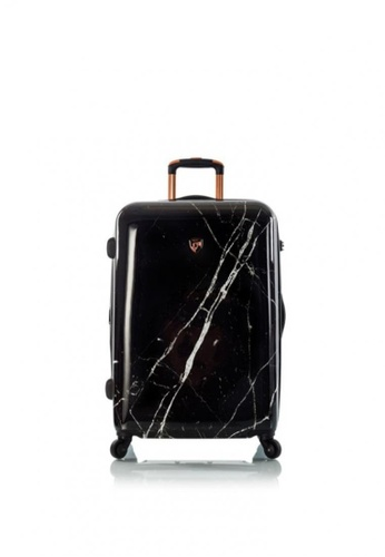 "Heys Philippines black Dakara - Black Marble 21"" Fashion Spinner Carry-on 44725ACDCC906BGS_1"