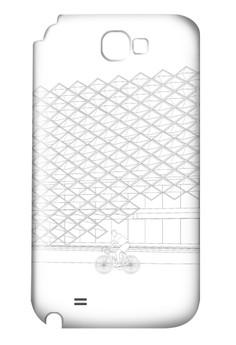 Brise Soleil Up Matte Hard Case for Samsung Galaxy Note 2