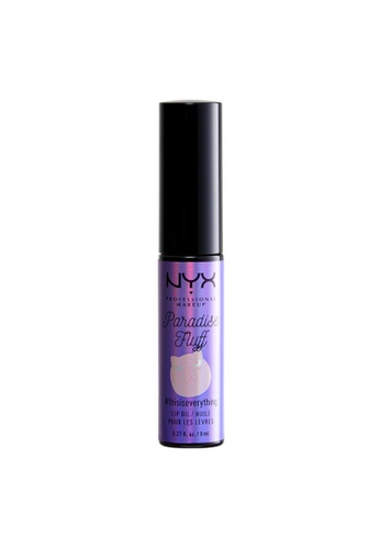 NYX Professional Makeup purple PARADISE FLUFF LIP OIL - GET SPUN 72A94BE6F9EEA9GS_1