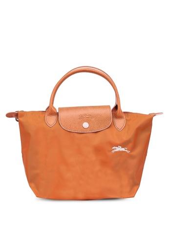 LONGCHAMP orange Le Pliage Club S Top Handle Bag (zt) E8DA3AC478081BGS_1