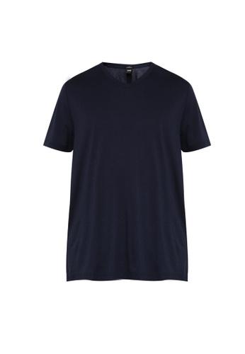 BOSS navy Teal 15 T-Shirt 408F6AA3F548A9GS_1