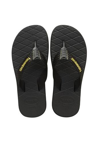 Havaianas black Level 17 Flip Flops 5BF5CSH88E0FFDGS_1