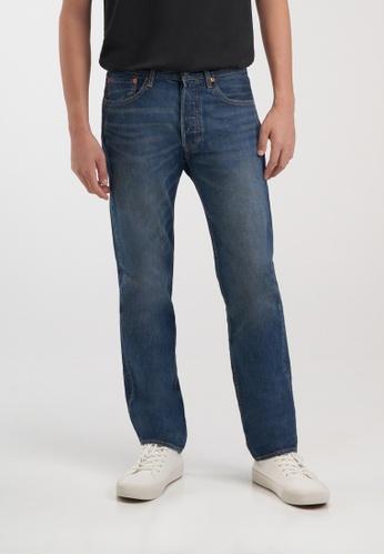 Levi's blue Levi's® Men's 501® Original Jeans 00501-3146 DE980AAE2F06C2GS_1