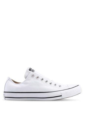 Converse black and white ZALORA EXCLUSIVE - Chuck Taylor All Star Core Slip Ons 04F0BSHD14254BGS_1