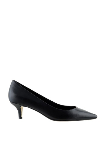 eq:iq black eqELLA Simple Pointed Toe Pumps EQ351SH97UVYSG_1