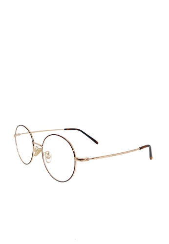 ASLLY gold Louvre Fantasia│Anti-blue light glasses with golden detailed frame 06A73GL05BAE9CGS_1