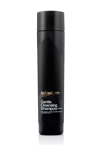 label.m black Gentle Cleansing Shampoo 300ml LA590BE18CJXSG_1