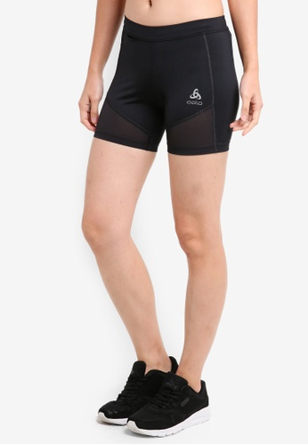 Odlo black Zeroweight BL Bottom Shorts 10756AA15BD688GS_1