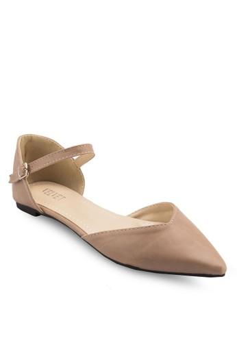 Jean Basic Sesprit香港分店地址lingback Flats, 女鞋, 鞋