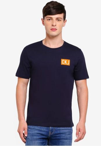 Calvin Klein 黑色 Institutional Logo Reg Tee - Calvin Klein Jeans 2D394AA07CBAB0GS_1