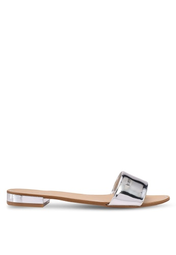 ALDO silver Etelin Flat Sandals 21EEDSH06AF862GS_1
