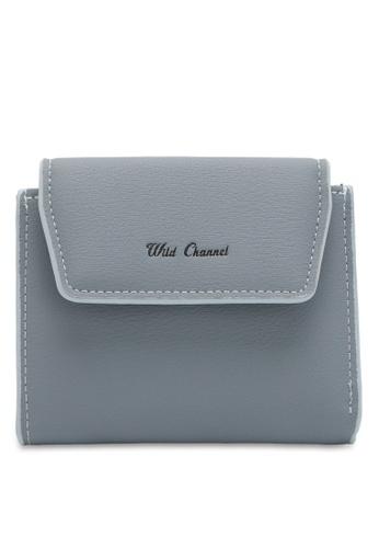 Wild Channel blue Women's Bi Fold Wallet 20234ACE5141B2GS_1