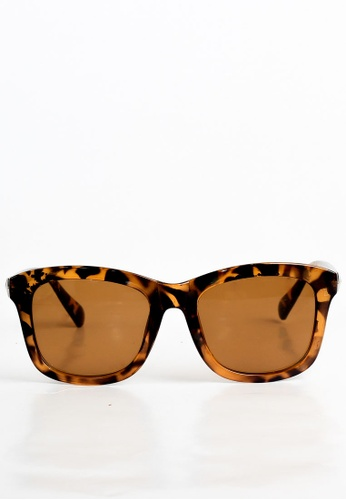 joystyx brown Claire Sunnies in Leopard JO909AC32ZVBPH_1