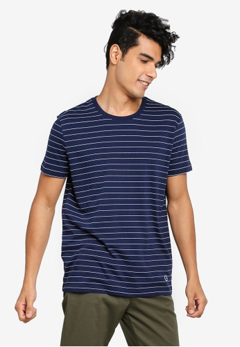 Gay Giano navy Vintage Sailor Stripe T-shirt 5D4EEAA218DBDBGS_1