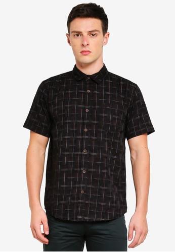 Fidelio black Sleek Casual Short Sleeves Shirt 6EDC0AA7522D8CGS_1