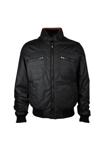 Hogan navy Hogan Zip Fornt With Zip Pocket Jacket in Navy 19C55AAE8BA62EGS_1