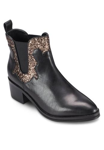 esprit 高雄Paloma 閃飾粗跟踝靴, 韓系時尚, 梳妝