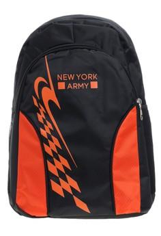 Newyork Army N7250 School Backpack