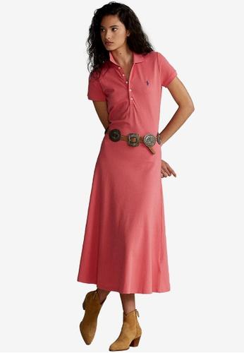 Polo Ralph Lauren pink Short Sleeves Day Polo Dress 48256AA161AEA2GS_1