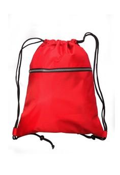 Large Plain Drawstring Bag