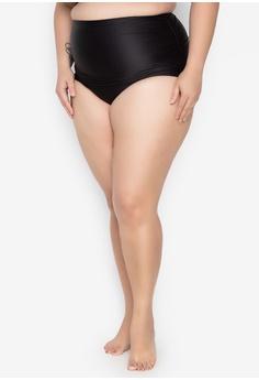 ce01346d99 Aquaholic black Regina Plus Size Swim Bottom 5275DUS8A62E0DGS_1