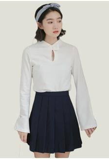 e635392092bca9 Simplicity Collection  Cut Off Blouse in White SH656AA0GDLZSG 1