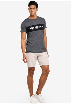9afdc1bc3 Hollister Secondary Tech Logo T-Shirt HK$ 250.00. Sizes XS S M L XL