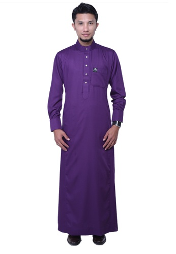 Maribeli Butik purple MB Man Zulqarnain Dark Violet Purple MA905AA58BUBMY_1