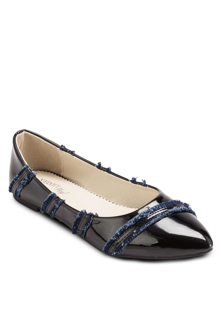 Play! Fion Mixed Striped Flats