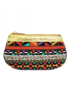 Tribal Cosmetic Pouch - Small