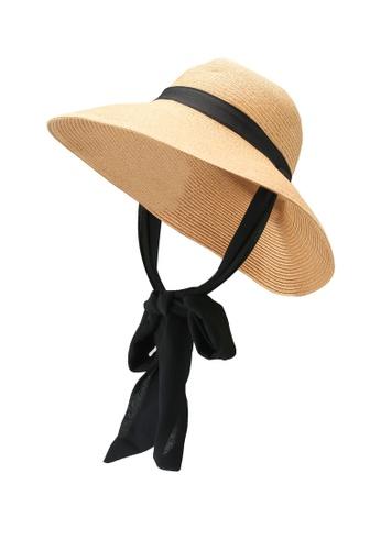 Vero Moda beige Nana Straw Hat E7EA9ACF5E367FGS_1