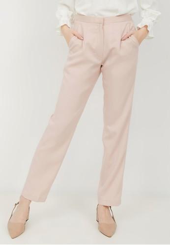 Alyssa pink and orange Karen Pencil Pants 5C252AA541F61BGS_1