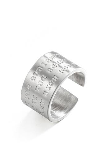 HAPPY FRIDAYS Stylish Engraved Titanium Steel Ring DWJ0492 D863EACFAE6226GS_1